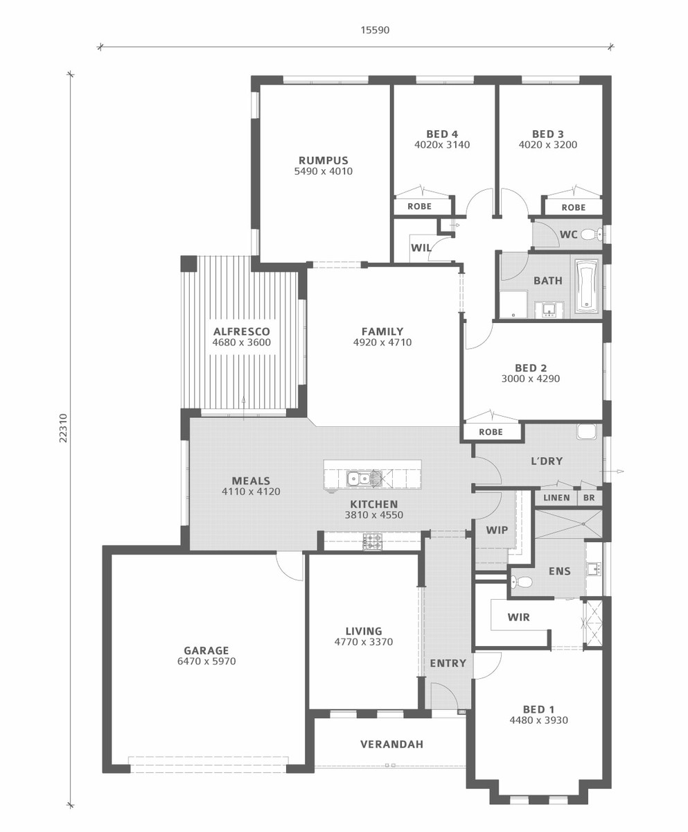 Bryan petersen quality builders ballarat and for Aspen house plans
