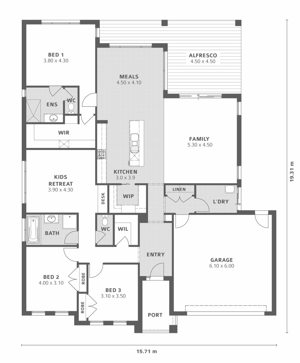 Australian house plans butlers pantry home design and style for Butlers pantry floor plans